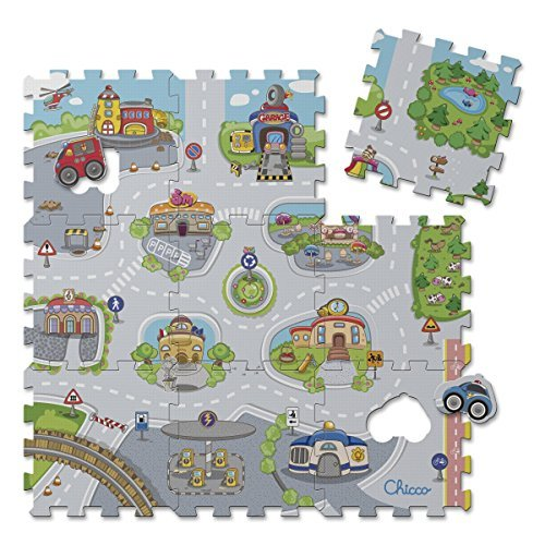 chicco puzzle matten city 9 teilig - Chicco Puzzle Matten City, 9-teilig